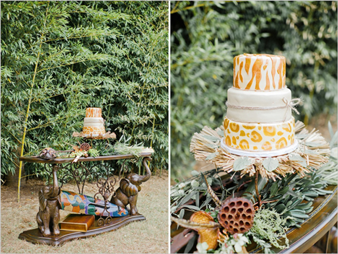 Get inspired with this african safari theme for your for African wedding decoration theme