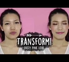 Makeup Tutorial-Dusty Pink Look by Ling's Palette