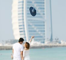 A Romantic Engagement Session in Dubai by Fresh Minds Digital Photography