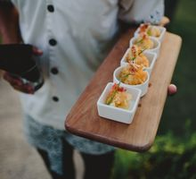 Tropical Colonial Elegance Wedding with Indonesian Set Menu Food Service by Bali Dream Day