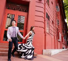Mark and Tricia Singapore Engagement by Chestknots Studios