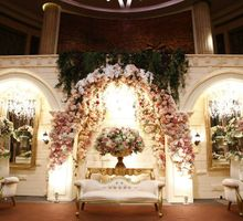 Ballroom Wedding at Bali Room - Hotel Kempinski by Jonquilla Decor