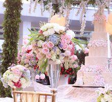 Wedding at Mandarin Oriental by Blooming Elise Flowers
