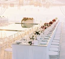 Adit & Celine Modern Ombre Wedding by Flying Bride