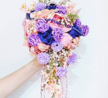 Alice in Wonderland Bouquet by Cup Of Love Design Studio