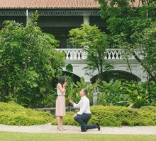 Wedding Proposal of John-Oliver to Cara by Awesome Memories Photography