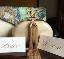 A&E ••• Place cards by Lemonpassion Calligraphy