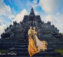 Pra wedding photos by Bali Exotic Wedding by Bali Exotic Wedding Organizer