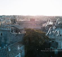 Paolo and Tracy - Rome Wedding by Chestknots Studios