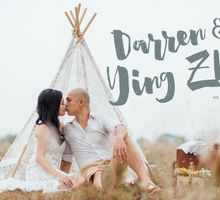 Darren & Ying Zhi Pre Wedding by Xara Lee Bridal Makeup & Hairstyling