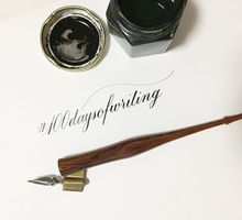 One Hundred Days Of Writing by Lemonpassion Calligraphy