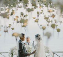 Steven & Aie Enchanted Garden Wedding by Flying Bride