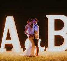Aimee & Blake at The Ungasan by baliVIP Wedding