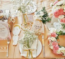 Michelle Gouw Flower Bridal Shower by La Pétite Fleur