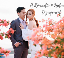 A Romantic and Natural Engagement by Chestknots Studios