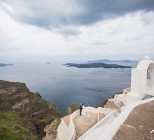 Santorini Wedding: John & Hazel by Stories.my