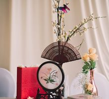 Oriental Zen Wedding Styling l ShawnxHeon by Cinderella Dream