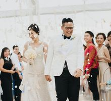 Yoga & Vivi Wedding by Wong Hang Distinguished Tailor