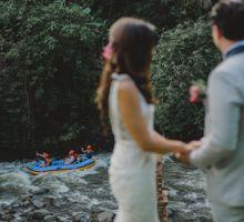 Ritz Carlton Mandapa Ubud Wedding of Christina & Aaron by Paper Diamonds