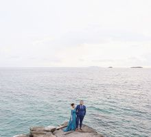 Miguel and Pau Tali Batangas Engagement Teaser by Sunkissed Collective
