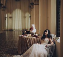 Stories Through Time - A Jewel-Toned Styled Shoot with Heirlooms by The Make Up Room