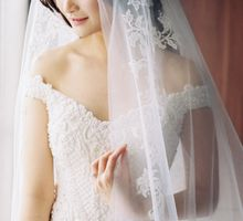WEDDING OF ANDRY & YENITA by felicia sasongko wedding make up