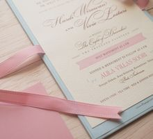Romantic Pink & Blue by The Paper & Ink