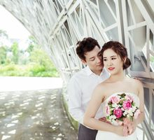 Merlin and Xiaobin pre wedding by Cocoon makeup and hair