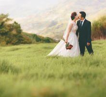 Alex & Ling Engagement Portrait by MJKphotography