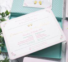 Bernady and Merlynda Wedding Invitation by felizenailart
