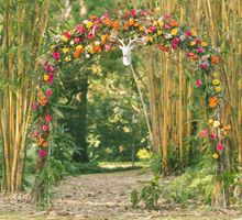 Bohemian Glamour Deer-Inspired Styled Shoot by Flower Story