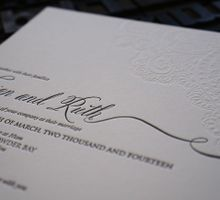 Brian & Ruth by D&d Letterpress