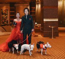 Wedding of Jaster and Burn by Conrad Centennial Singapore