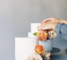 Lush Botanical Cake Design Inspiration for the Naturalist Bride by Jen Huang Photo