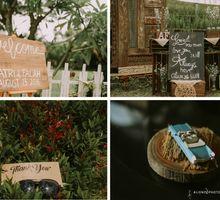 Atri Falah outdoor wedding by alienco photography