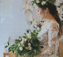 WINTER WONDERLAND STYLED SHOOT  BY ALCOVE AT CALDWELL HOUSE by Flower Story