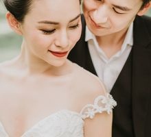 Modern English Colonial by Makeup Maestro Weddings