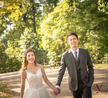 Nicholas & Jasmine Pre wedding shoot by Yvonne Creative Bridal