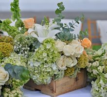 Romantic Rustic in Green and such by magical blossoms
