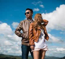 Mt Pinatubo Engagement Session by NQ Modern Photography