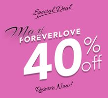 May FOREVERLOVE 40% OFF by Yabes Films