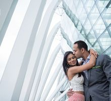 Dilan & Nadine by Gardens by the Bay