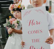 Rustic Lovely Church Wedding followed by Elegant Lush Reception by PapyPress