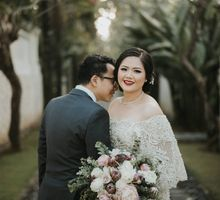James & Gina Wedding by Wong Hang Distinguished Tailor