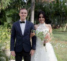 Louis Sallas & Ella Valentine by Bali Eve Wedding & Event Planner