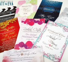 Economy Invitation Cards by Matt & Eva