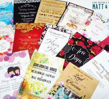 Customized Invitation Cards by Matt & Eva