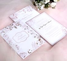Dusty Pink Floral by Mille Paperie