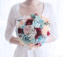 Blue and Red by Cup Of Love Design Studio