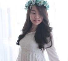 Flower Crown by Luna Vici by Cup Of Love Design Studio